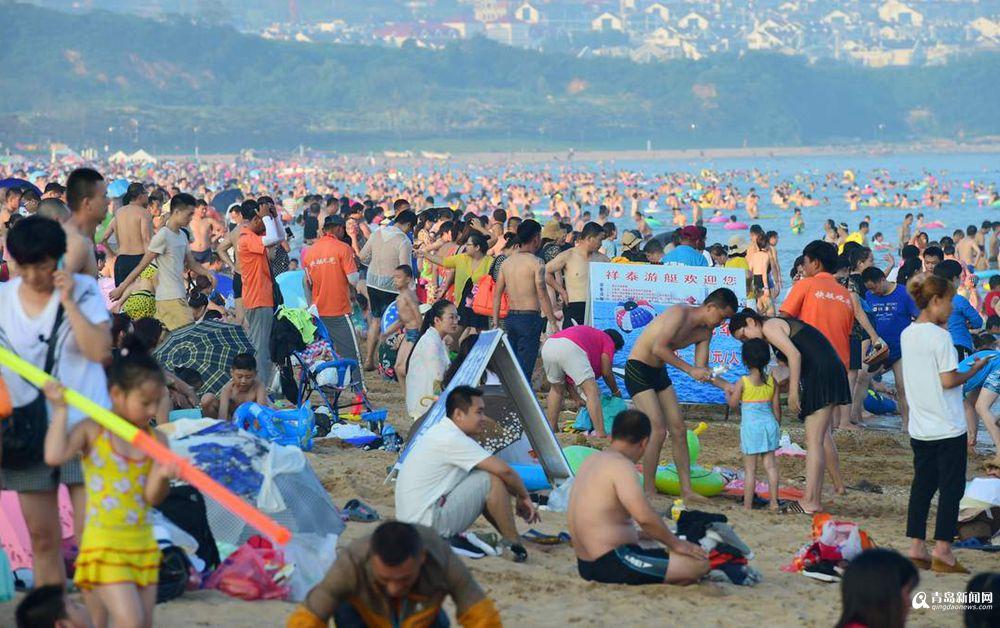 高清:阳光沙滩比基尼排球 石老人喊你感受热情