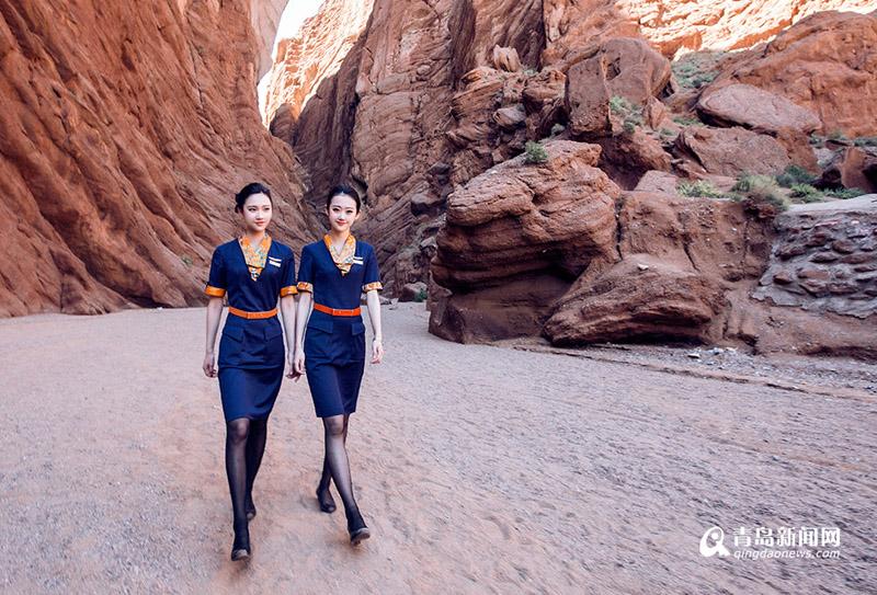 高清:青航佳人带你游克拉玛依 领略最美新疆大漠风光图片