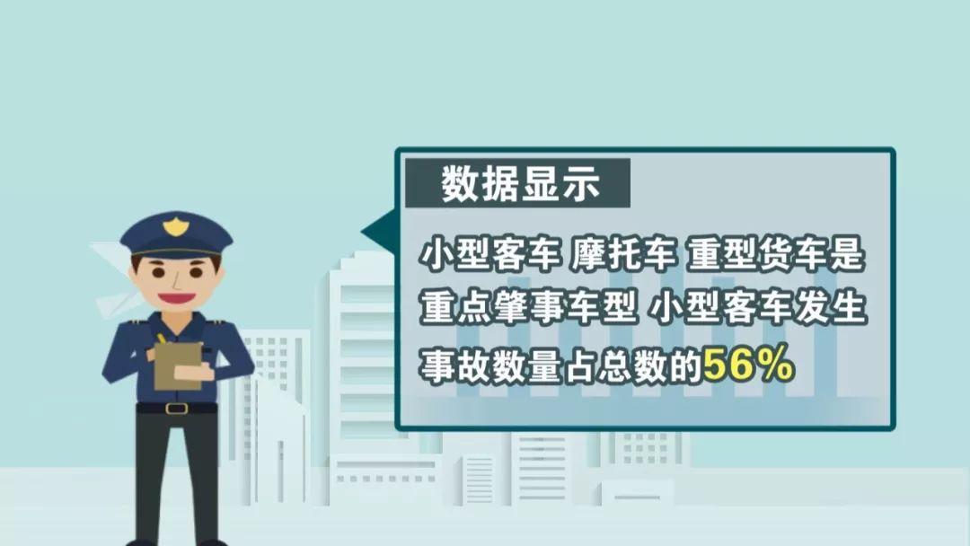 交警部门公布交通安全大数据 老司机上路真不能
