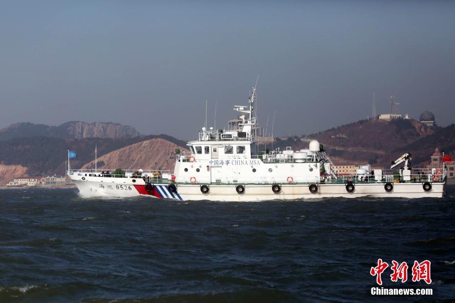 烟台海事局列编40米级巡逻船保障渤海湾春运安全