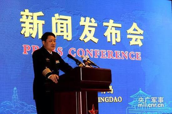 海军新任新闻发言人刚亮相就走红 网友:颜值高