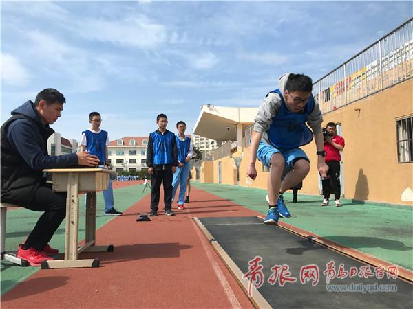 青岛体育中考最后一年