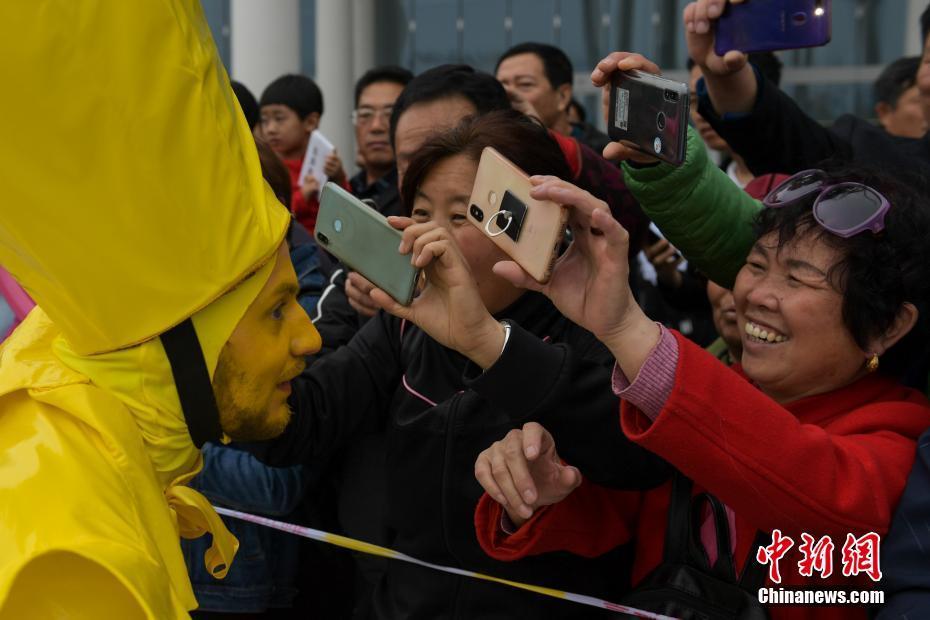 北京世园会正式对公众开放