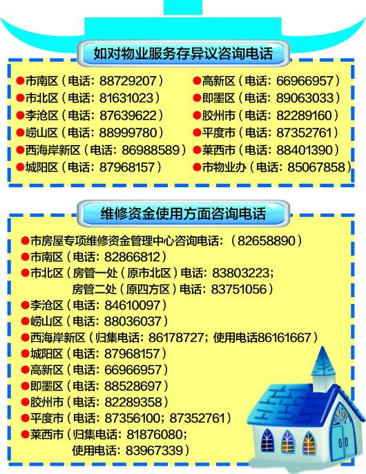 青岛市物业办:房屋维修金利息拟将分配给业主
