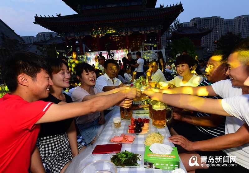 民谣、啤酒、美食…即墨古城开启130天夏夜狂欢