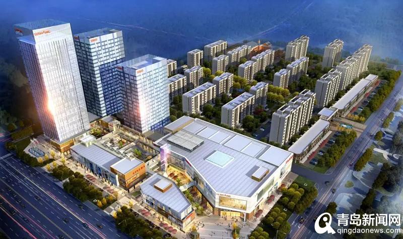 高新区人气地标来了 首个城市商业综合体明年启用