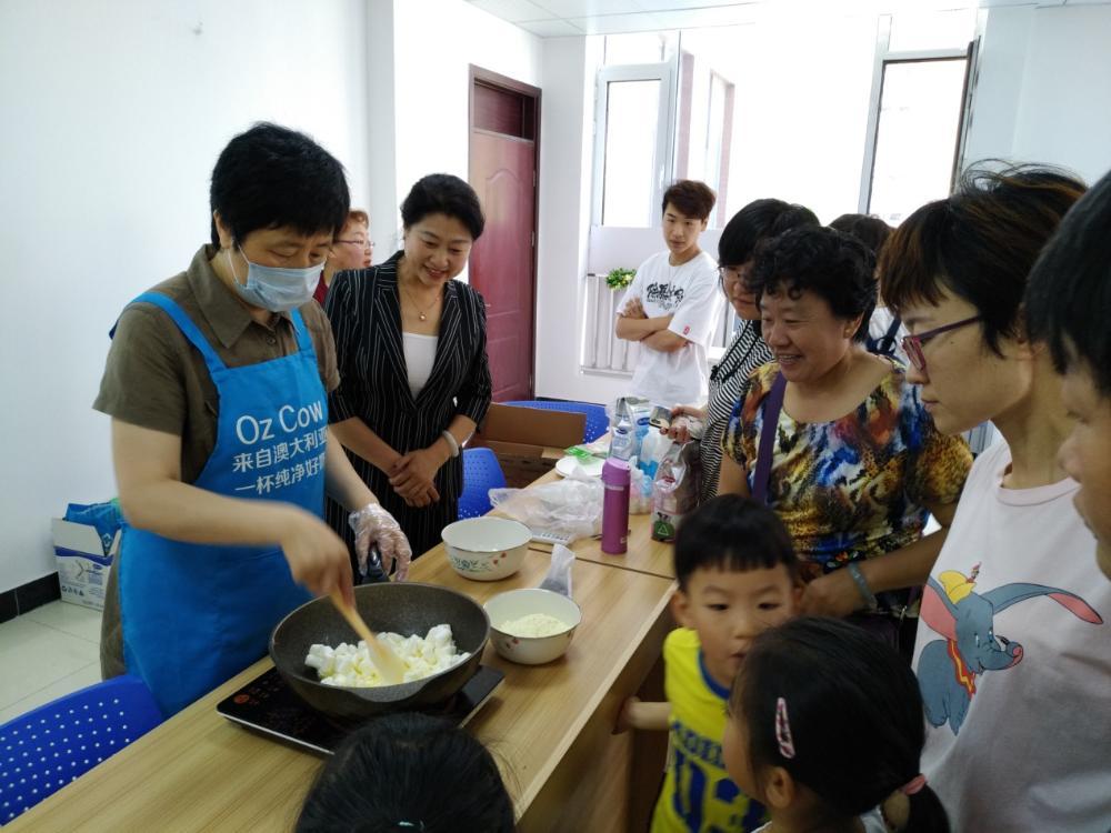 大港街道普吉社区举办亲子美食DIV创意秀