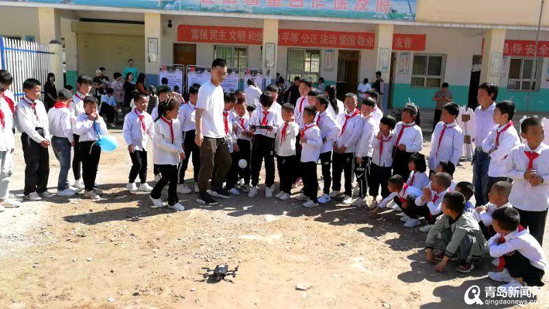 有爱!青岛又在甘肃建希望小学了 已建419所