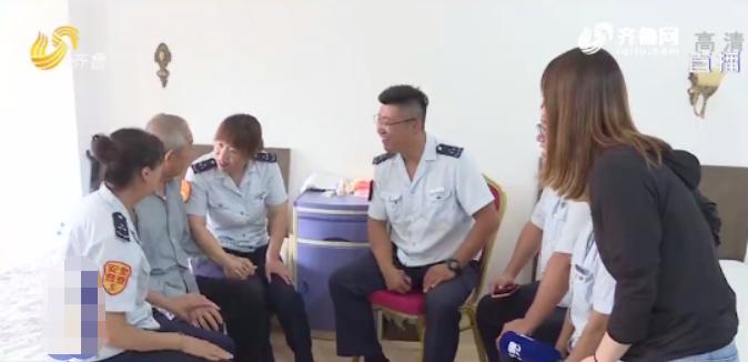 """青島98歲老翁公交站連等3天 只為跟她說""""再見"""""""