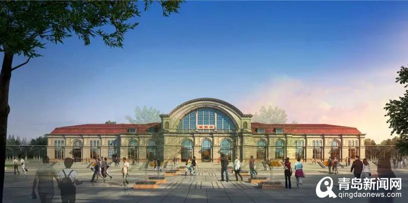 真实的网络赚钱项目采用欧式建筑风格 城阳火车站正式开工年底前封