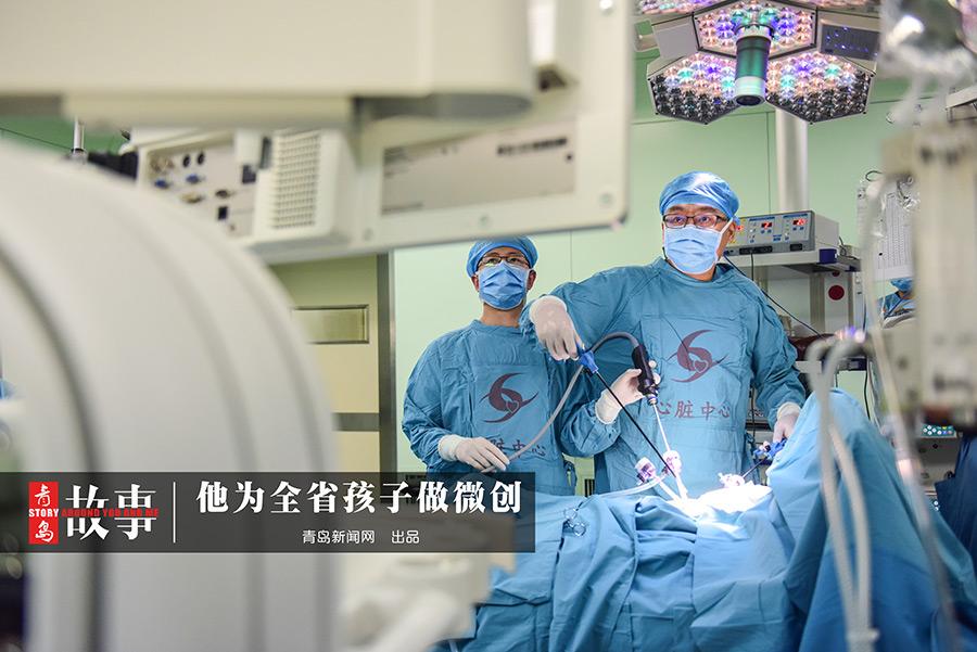 【青岛故事】妇儿医院侯可峰 他为全省孩子做微创