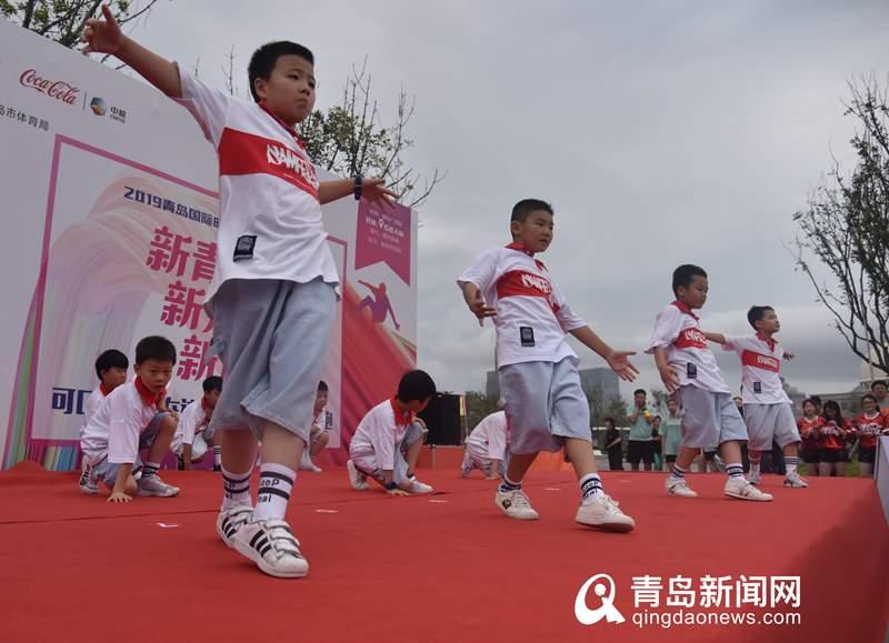 高清:青岛国际时尚季•时尚健康跑第二站激情