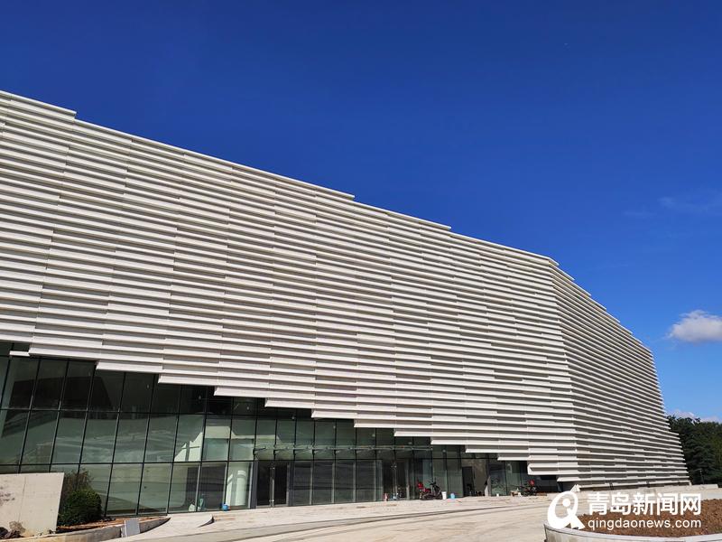 气势恢宏 城阳博物馆档案馆 大剧院本月底竣工图片