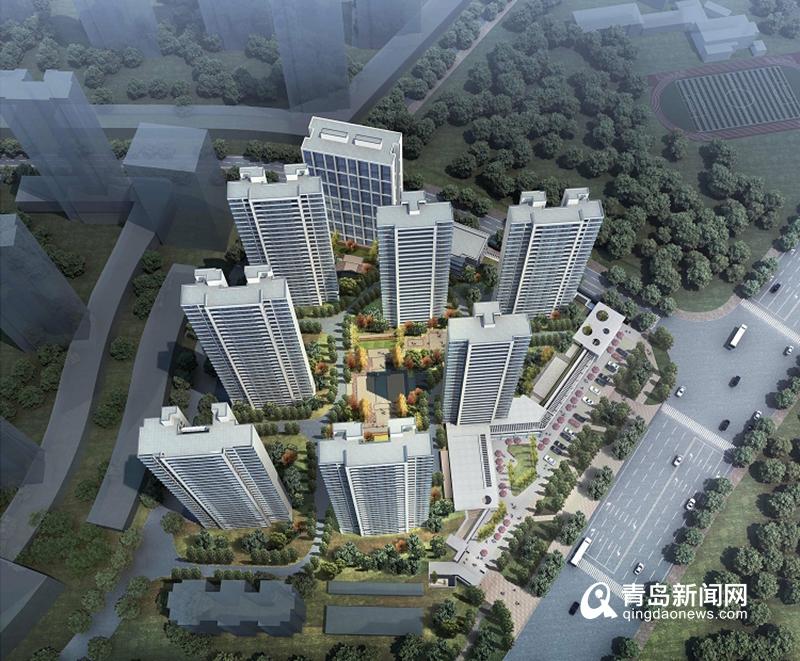 实地探访:新都心再添15万平综合住区 紧邻河西小学