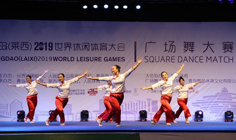 舞动莱西,休闲体育大会带动全民健身运动蓬勃开展
