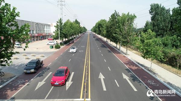 今年31条道路已大变样 崂山合肥路正在整治中