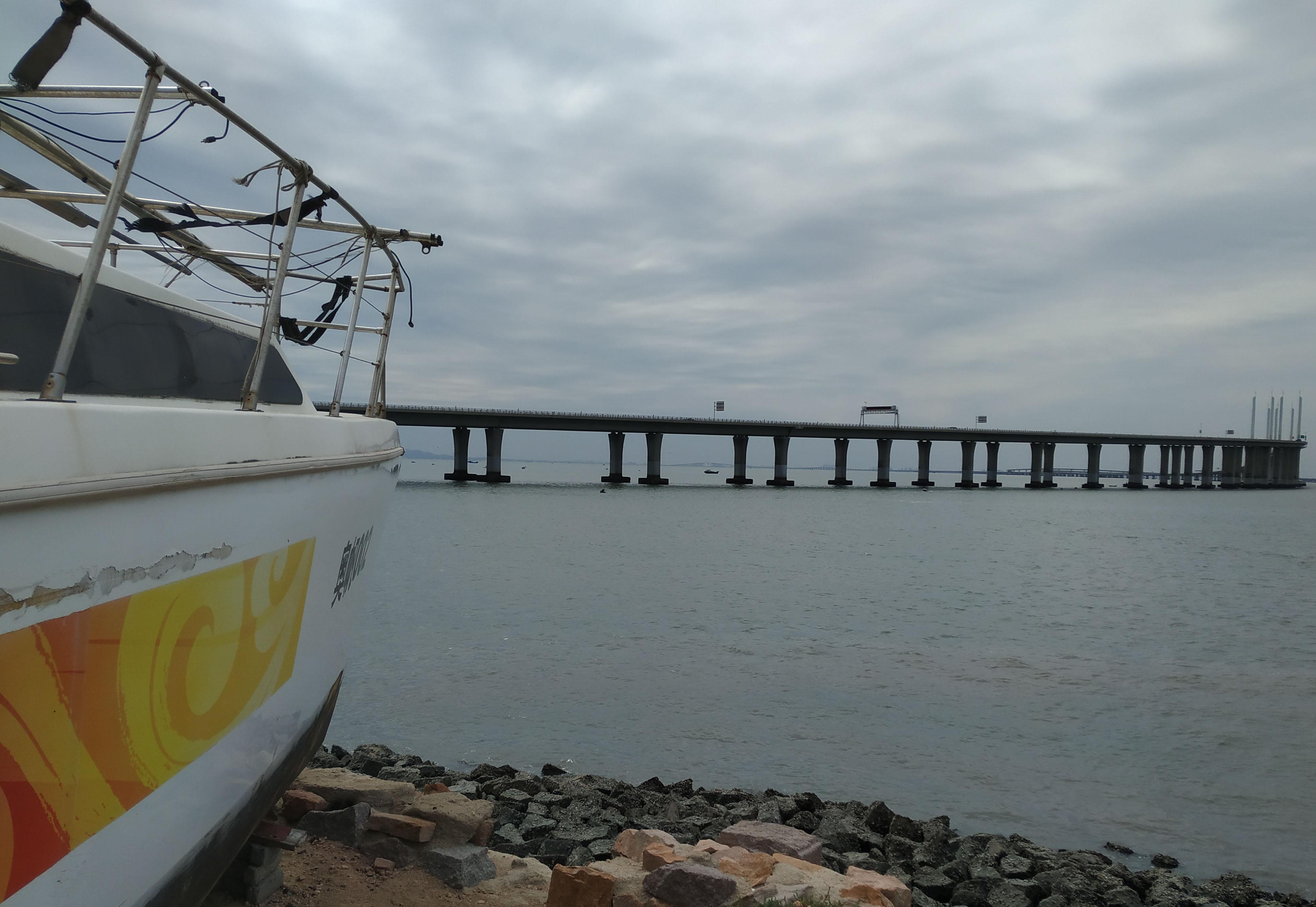 豪华羊圈!胶州废旧游艇成安乐窝,山羊惬意看海景!