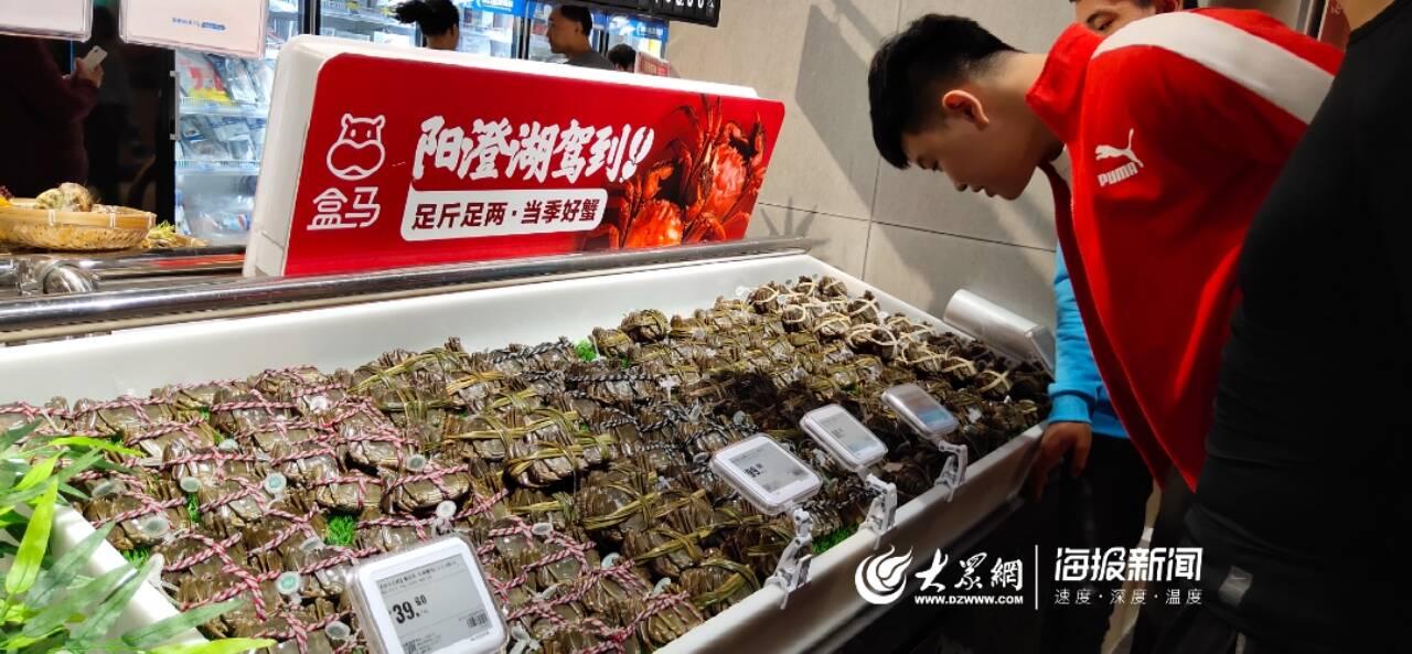 青岛第三家盒马鲜生店昨天开业 下月将再开两家