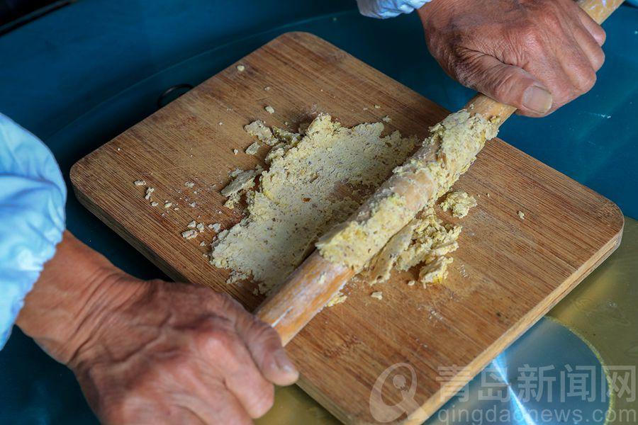 大缀骨山栗子包 承载乡愁的青岛地方特色美食
