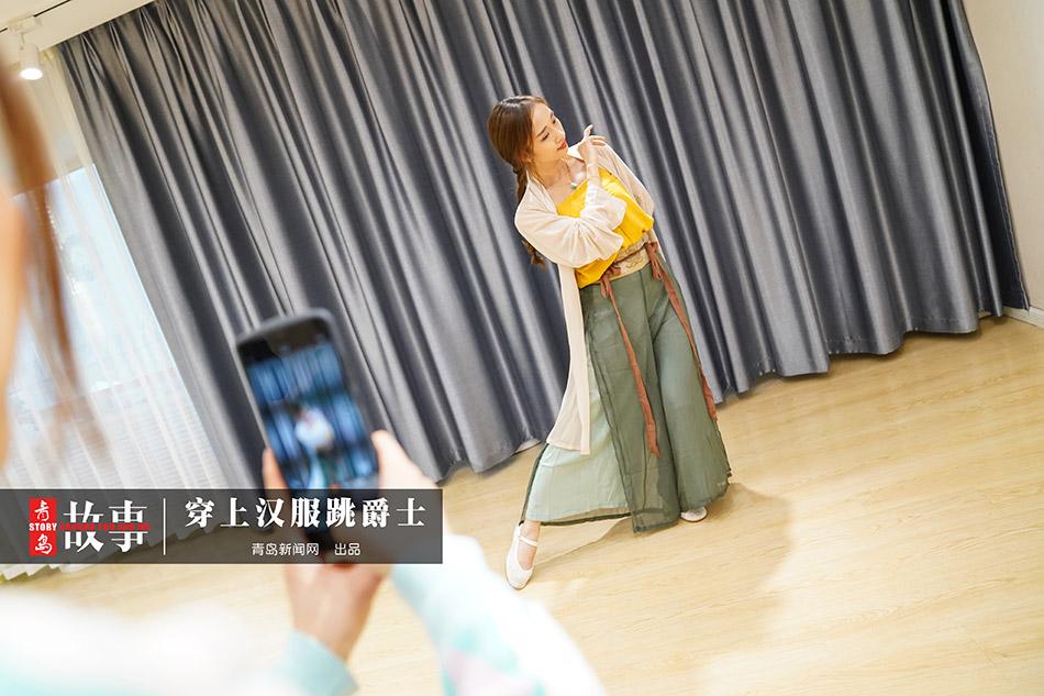 BCK体育 【青岛故事】穿汉服跳爵士 她是青岛