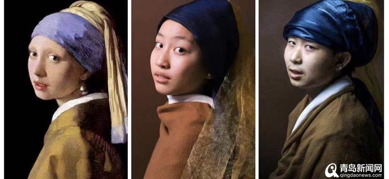 真像!青岛中学学生模仿世界名画 拍大片惟妙惟肖