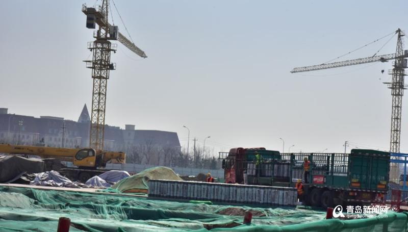 """按下""""重启键""""!青岛高新区这个市级重点项目复工"""