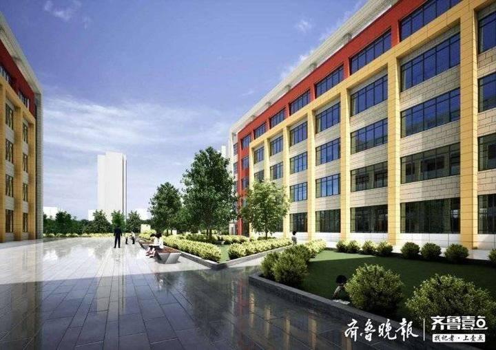 重庆路中学开工70天即将封顶,为青岛首座全钢装配学校 - 青岛新闻网