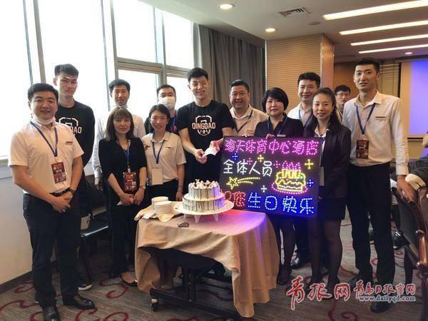 """林书豪包粽子、国信球员过特殊生日……CBA球员的""""青岛生活""""有"""