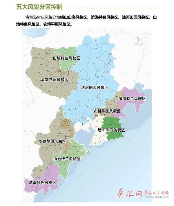 青岛乡村风貌规划出台 你家属于