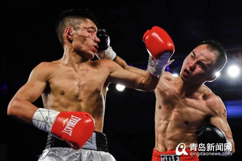 让人血脉喷张 世界拳击顶级比赛在青岛即墨举行
