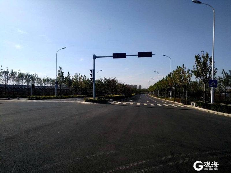 周边景观项目完成验收,济青高铁红岛站即将开通!
