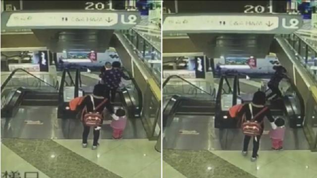 上海男婴商场坠亡监控曝光:奶奶身体倾斜孩子脱手