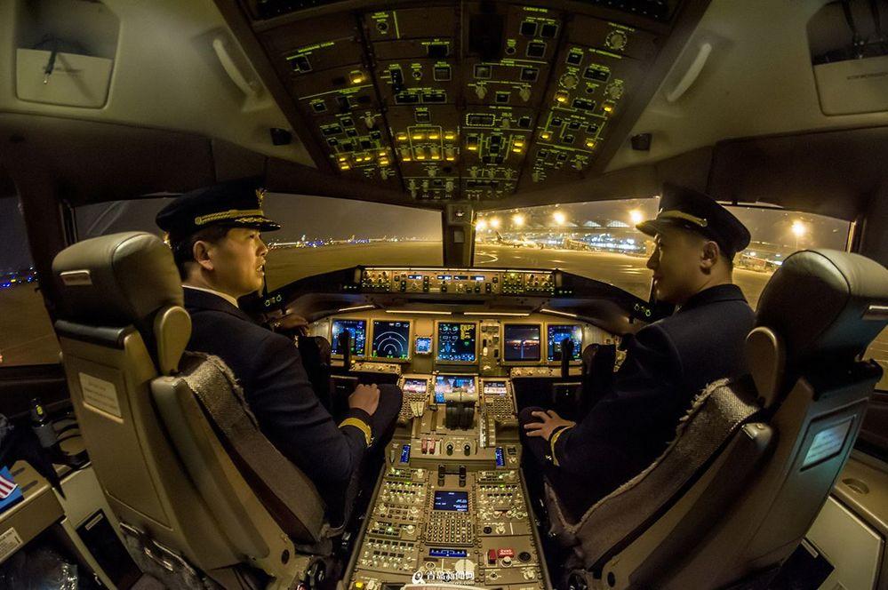 洲际大飞机内部揭秘(图)