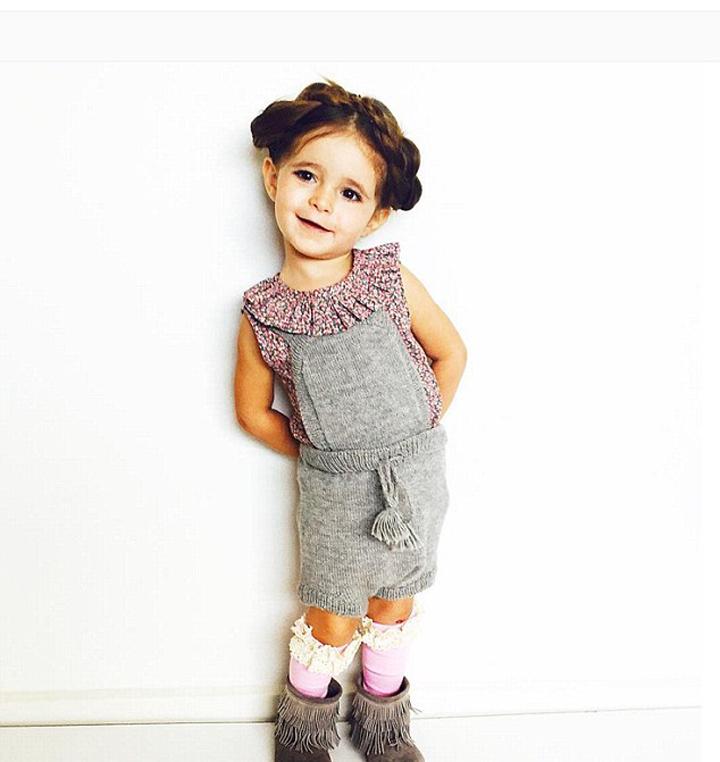 澳大利亚2岁萌娃时尚打扮走红网络