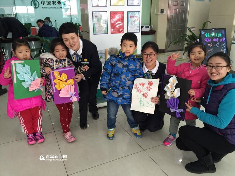 高清:三八节幼儿园办亲子活动