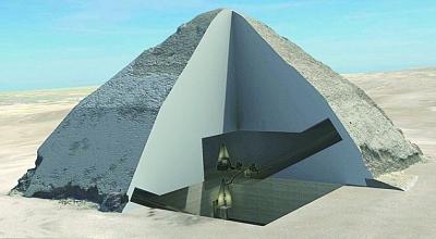 对现存的埃及金字塔进行新的探索,进一步了解金字塔内部的方方面面