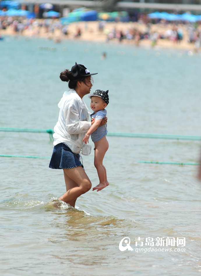 高清:第一海水浴场提前月开放 洗海澡约起来吧 - 青岛