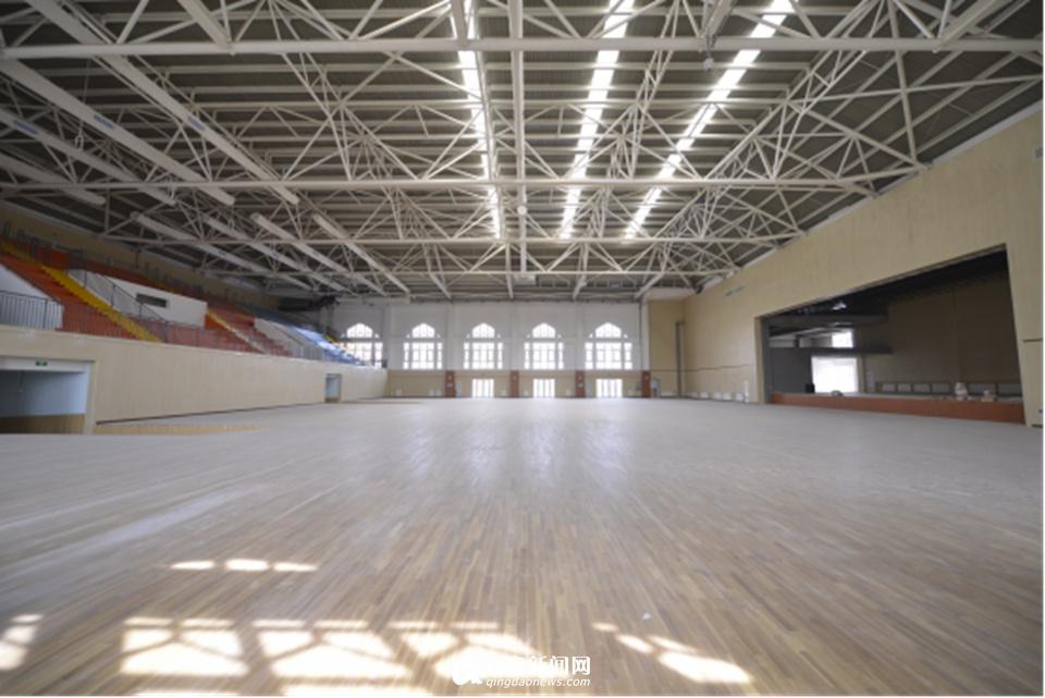 揭秘5所外迁高中体育馆 球场媲美08奥运 - 青岛新闻网