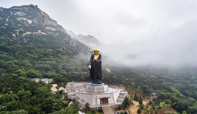 高清:上帝视角看崂山
