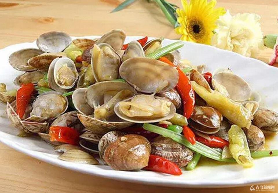 你知道吗 红岛蛤蜊是这样端上咱餐桌的(组图)