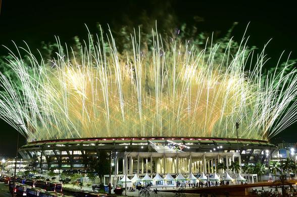 很巴西——里约奥运会开幕式六大亮点图片