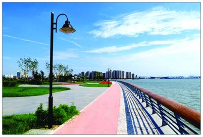 环湾绿道又增一段 金水路至楼山河入海口段开放