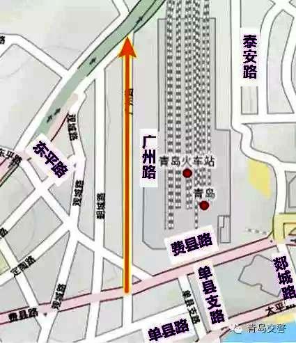 青岛火车站周边拟优化调流 涉及10条道路 - 青岛新闻 ...