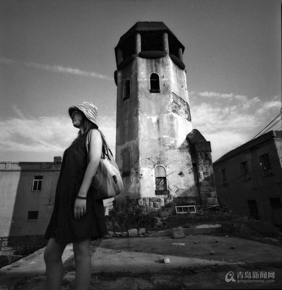 【百姓摄影节】黑白镜头里的青岛 另一幅美景