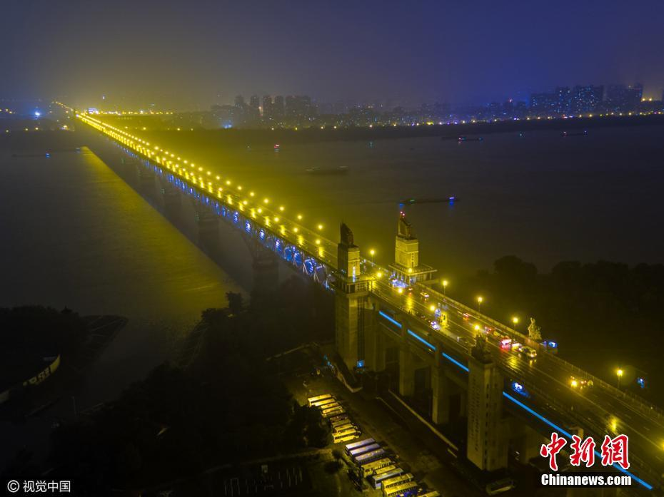 南京长江大桥正式封闭维修
