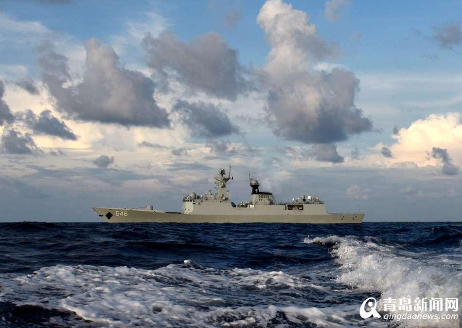 盐城舰参加东盟海上安全演习