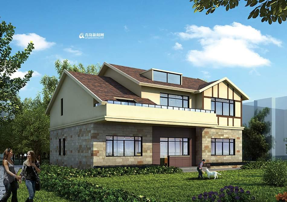 崂山弄海园小区一私人住宅将重建 不改变原貌