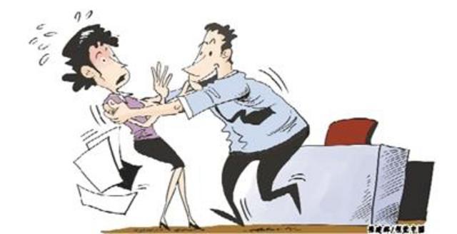 拿对职场性骚扰说不多数受害者v职场沉默保卫者漫画图片