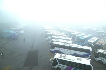 雾霾天气导致飞机延误