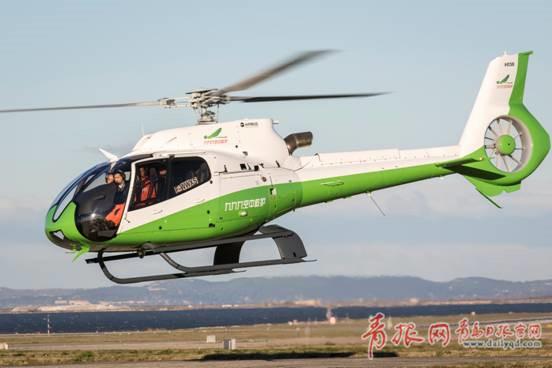 """厉害了 青岛将有""""空中120"""" 4月份将试运行"""